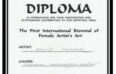 פרס ציון לשבח בתערוכה לאמנות נשים